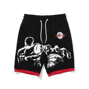And1 x Mishka Keep Watch Streetball Shorts