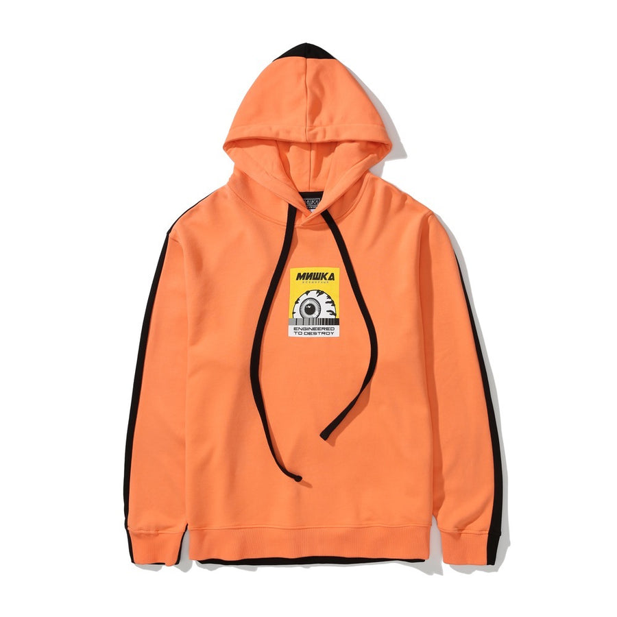 Keep Watch Color Blocked Hoodie - Mishka