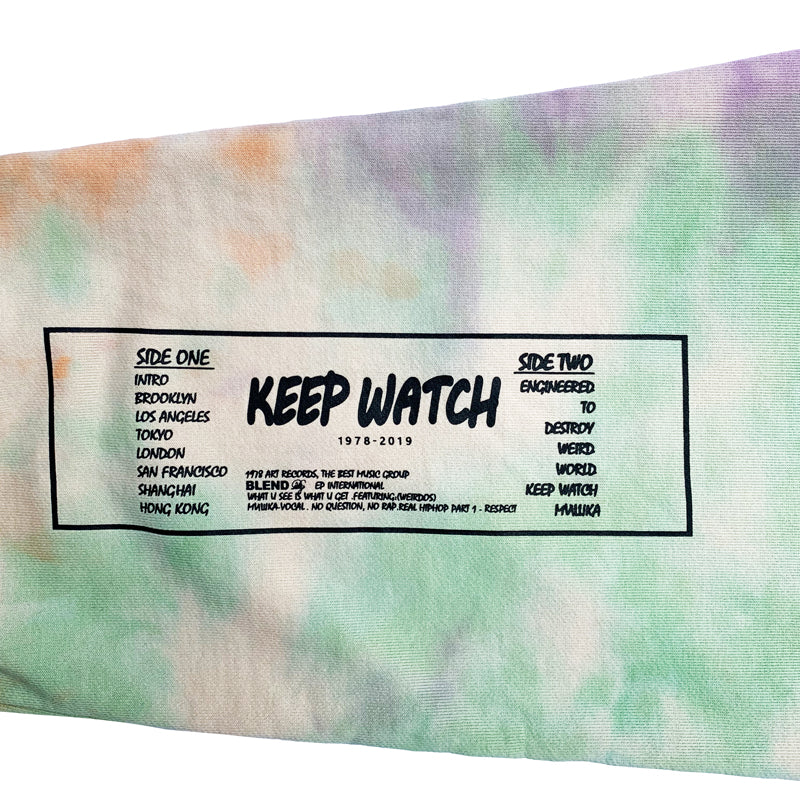 Keep Watch Wet Paint Tie-Dye Sweatpants