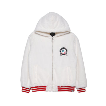 Keep Watch Furry Hooded Jacket