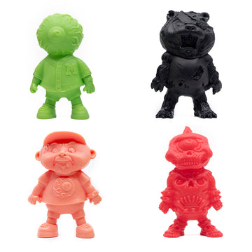Basuritas Vinyl Toy 4 Pack - Colored Set