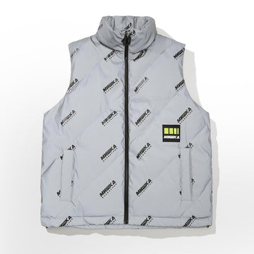 All Downhill Vest - Light Grey - Mishka
