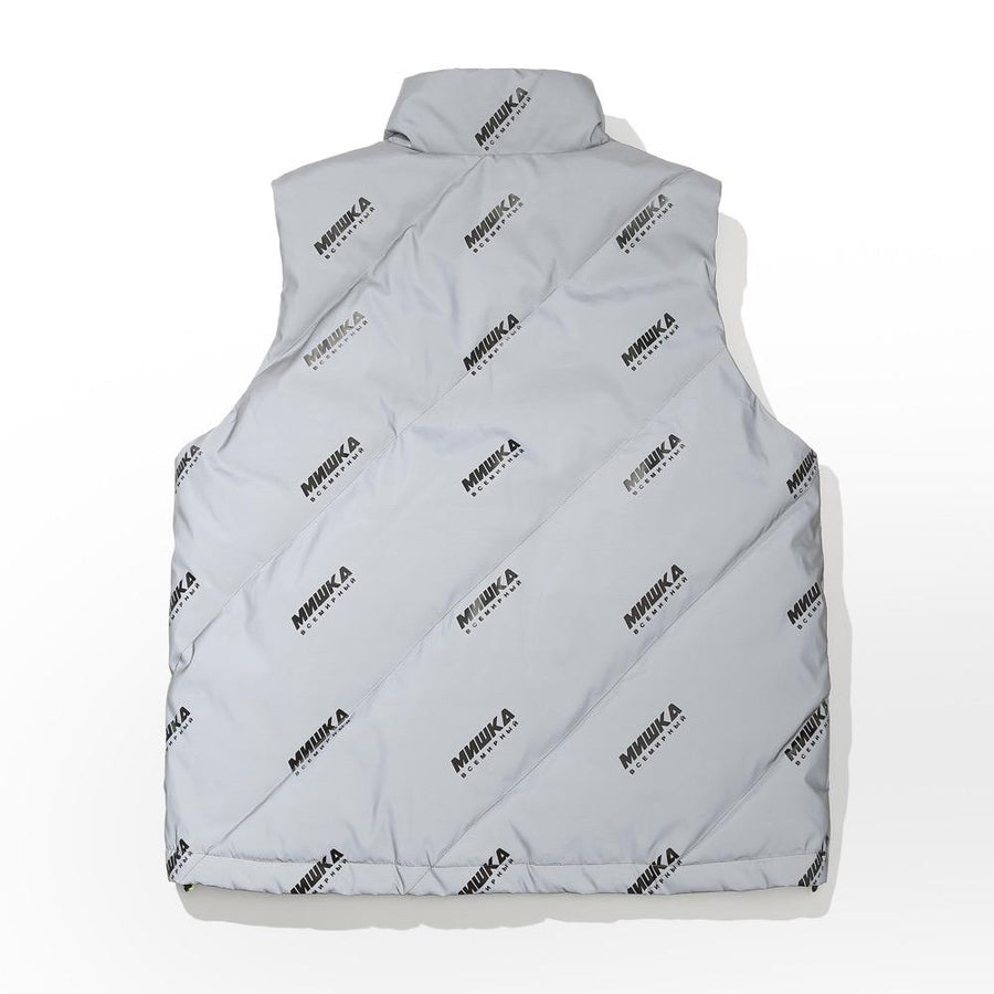 All Downhill Vest - Light Grey - Mishka NYC