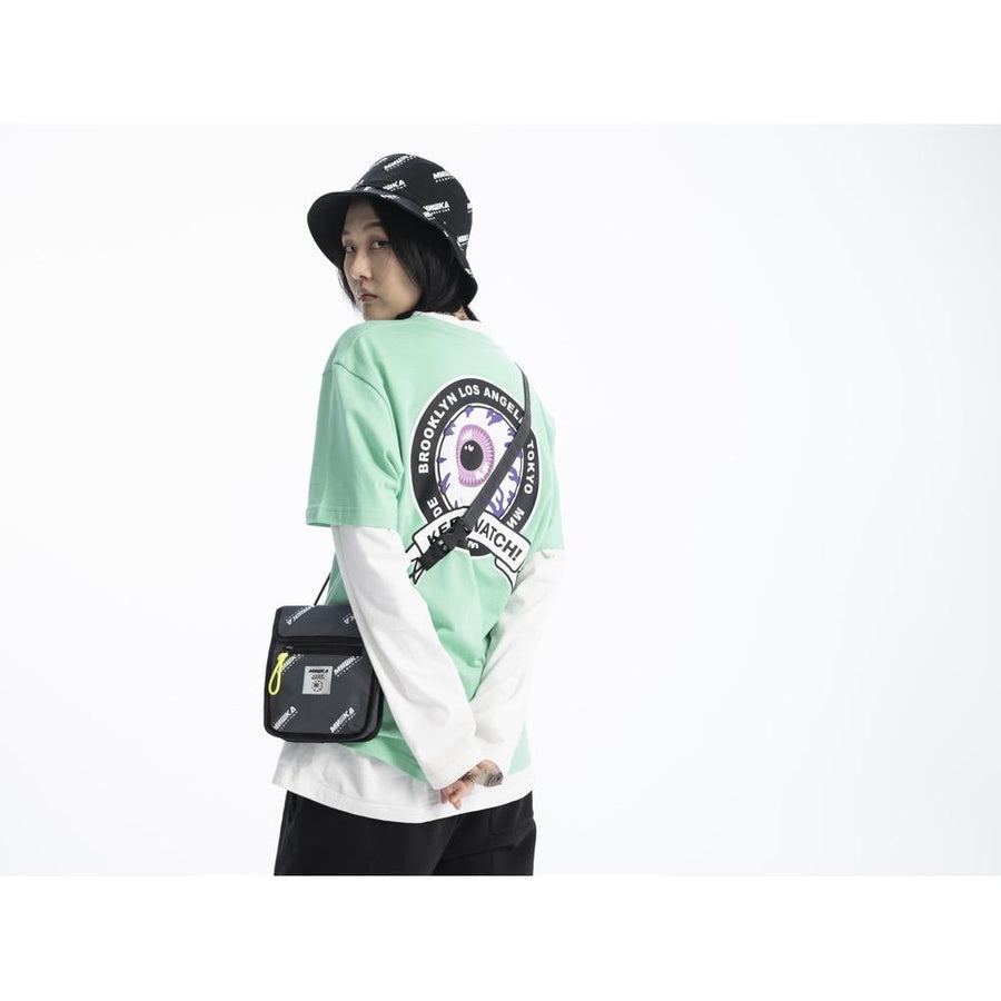 All Over Logo Print Bag - Mishka