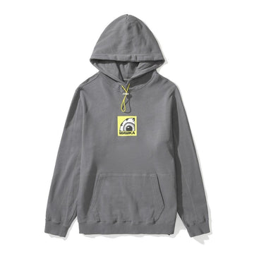 Be Quiet and Drive Hoodie - grey - Mishka NYC