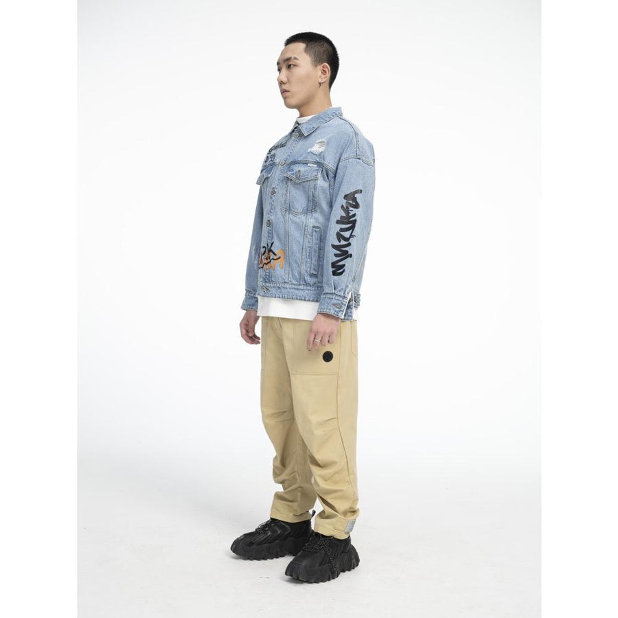 Bearmop Denim Jacket - Mishka
