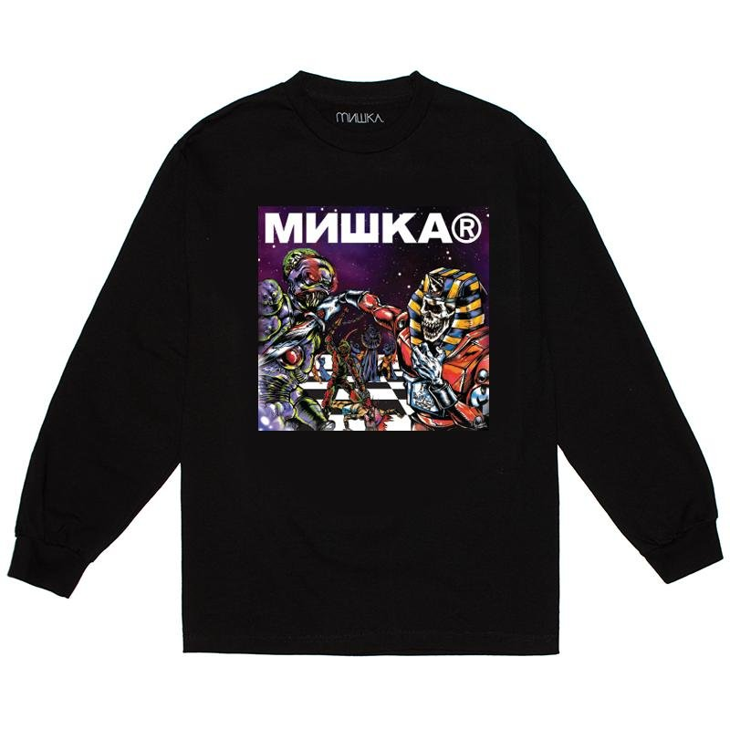 Chess Boxing Longsleeve - Mishka