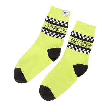 Clutch Check Socks - Mishka
