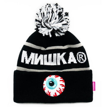 Cold War Beanie - Black/Grey - Mishka