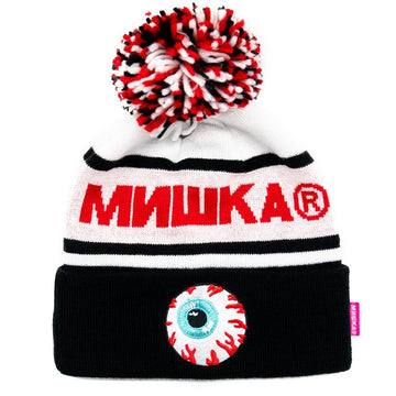 Cold War Beanie - Black/Red - Mishka