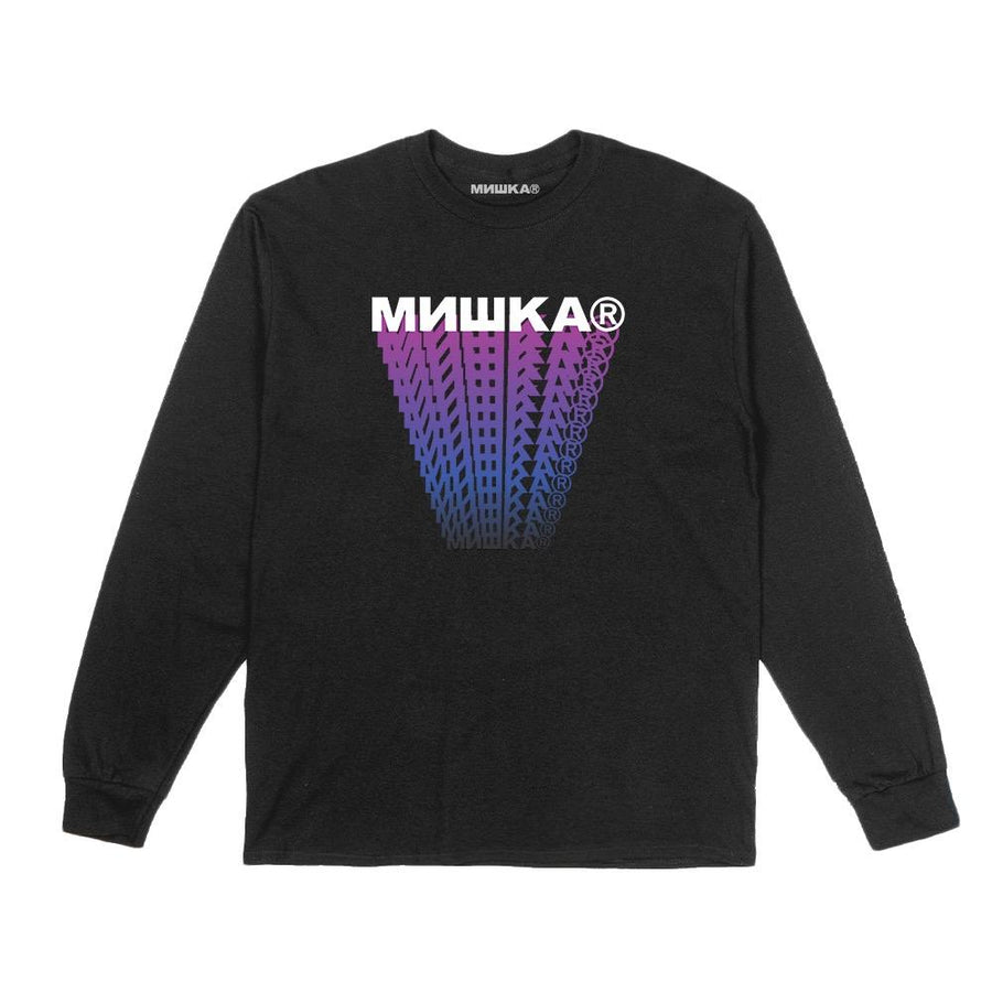 Cyrillic Block Trails Longsleeve - Mishka
