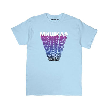 Cyrillic Block Trails Tee - Mishka