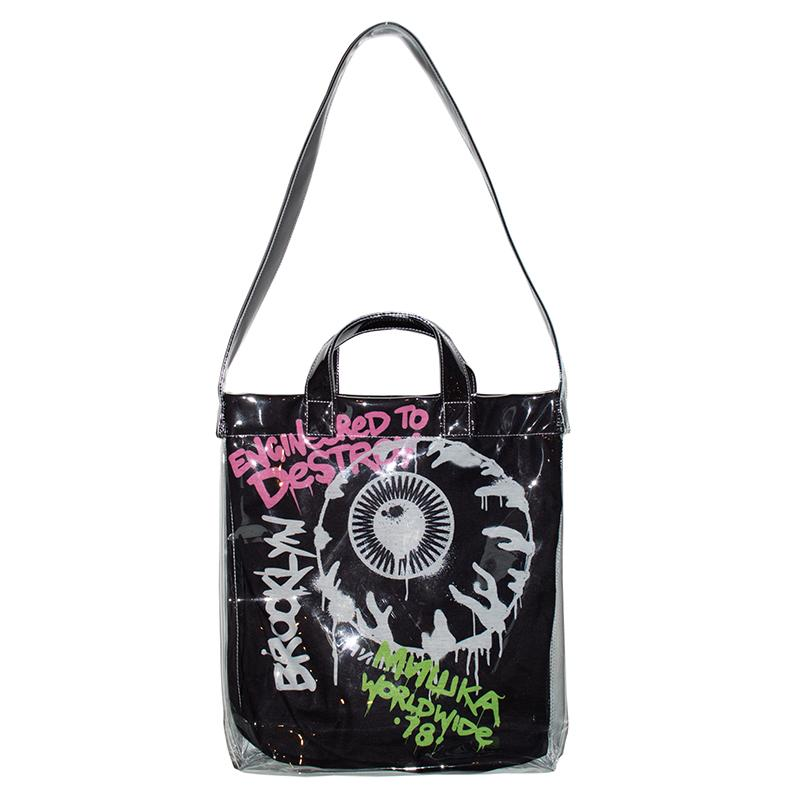 Engineered To Destroy PVC Tote Shoulder Bag - Mishka