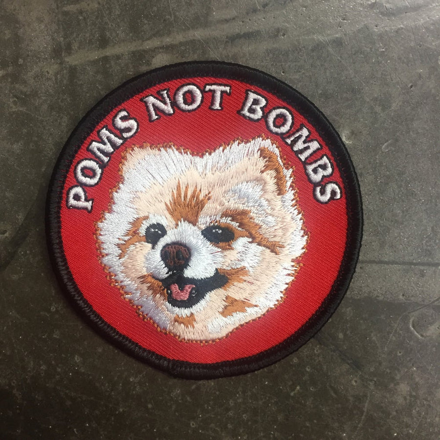 Poms Not Bombs Romy Patch