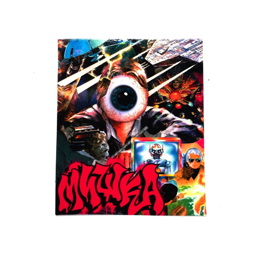 Galactic Ghouls Sticker - Mishka NYC