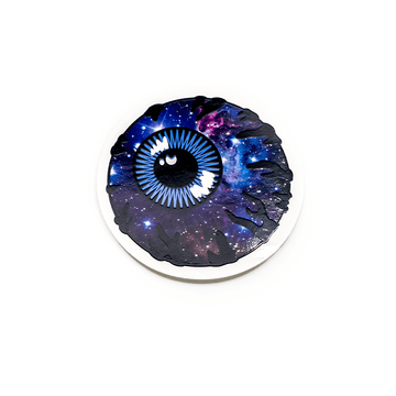 Galaxy Keep Watch Sticker - Mishka