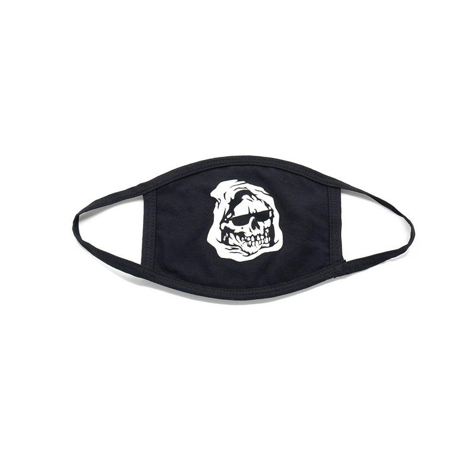 Glow in the Dark Chill Reaper Face Mask - Mishka NYC (4438695280709)