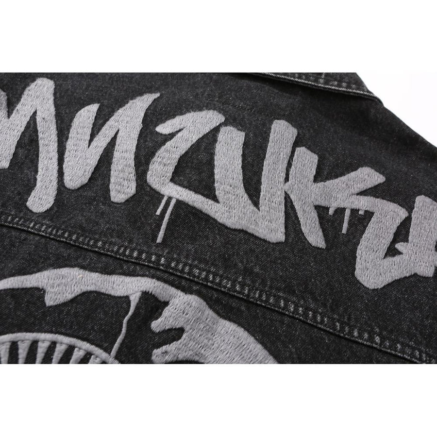 Graff Keep Watch Denim Jacket - Mishka
