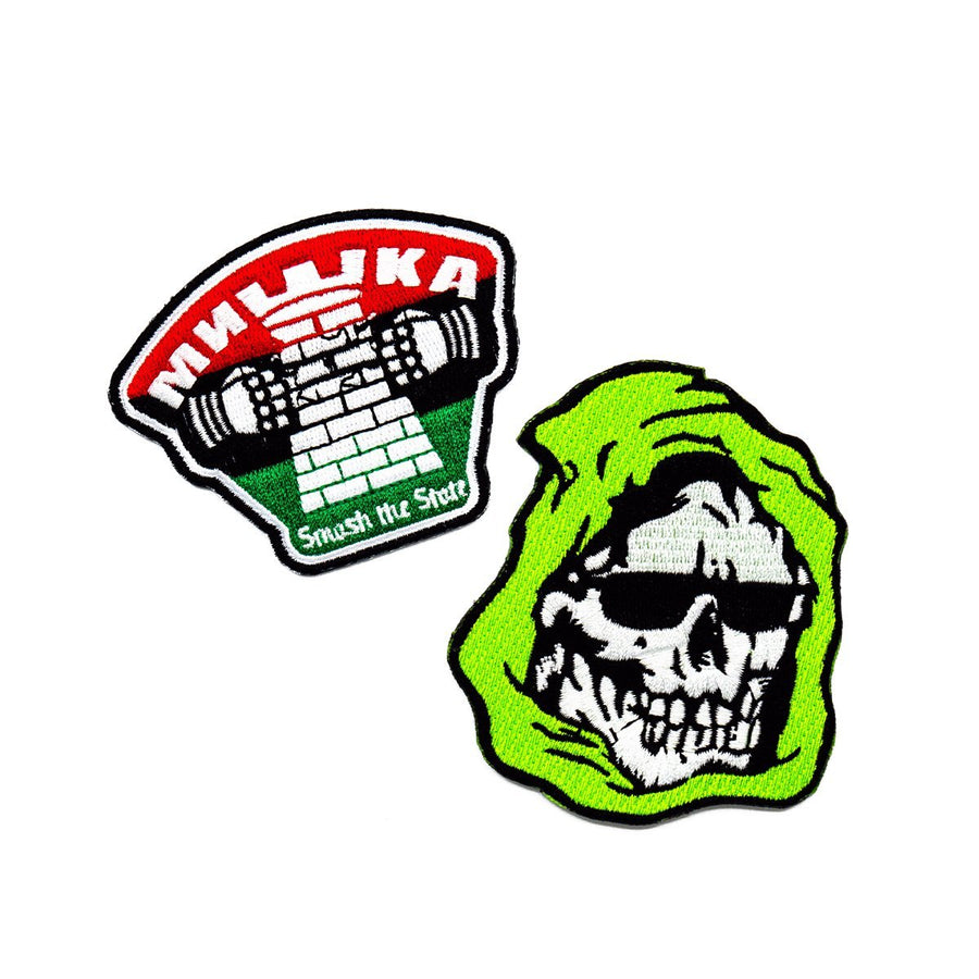 Green Gang Patch Bundle - Mishka NYC