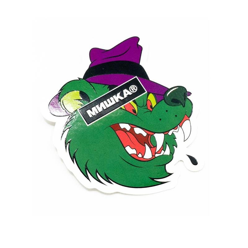 Howlin' Adder Sticker - Mishka NYC (3923458228293)