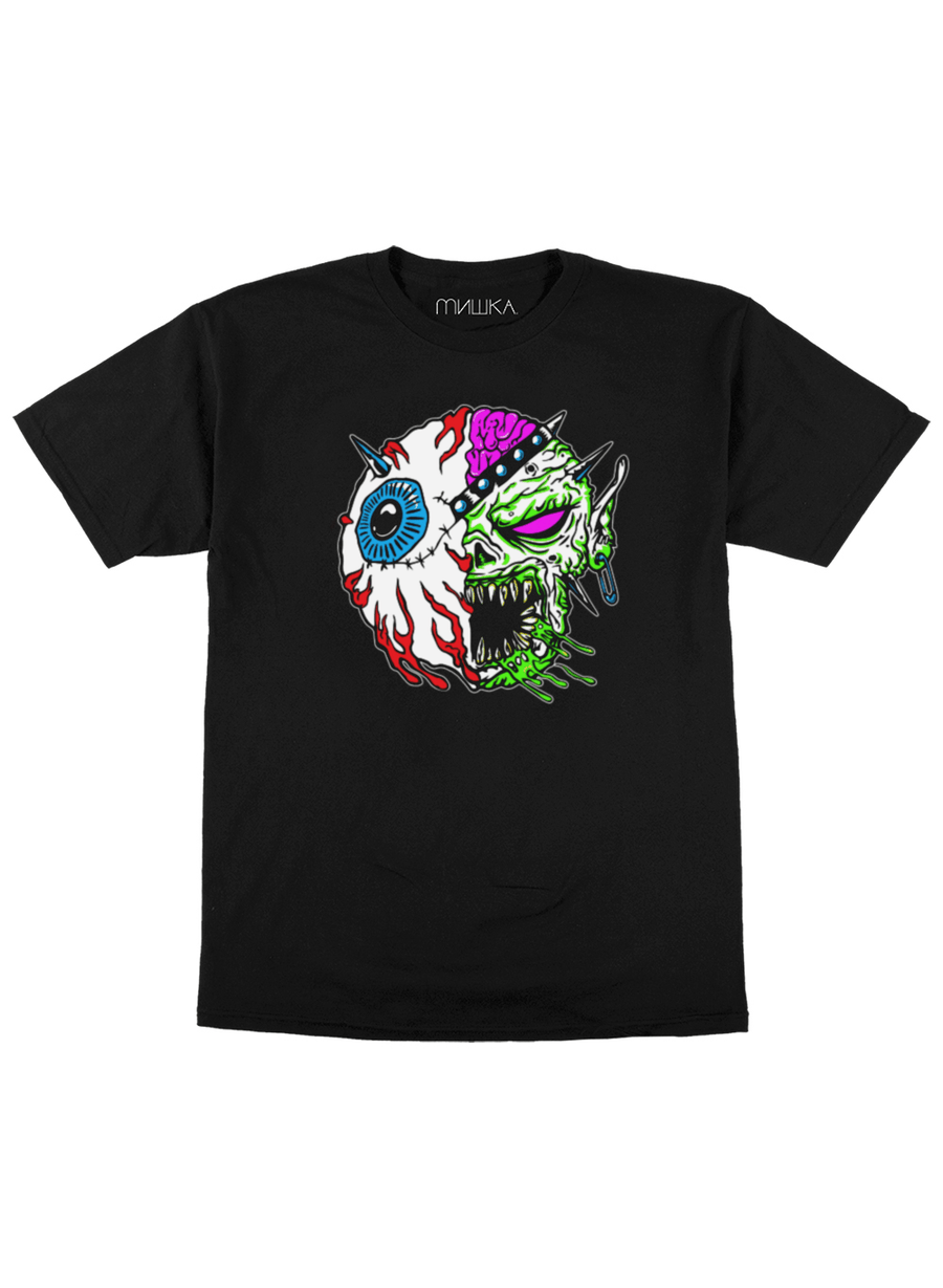 Kalaka Split Faced T-shirt - Mishka