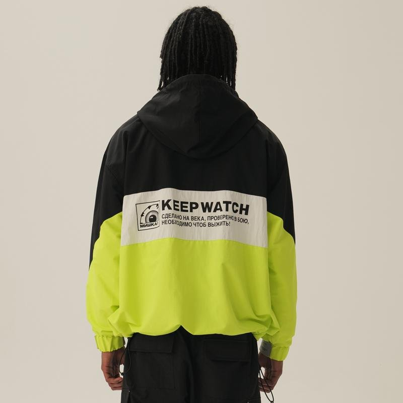 Keep Watch Clutch Windbreaker - Mishka