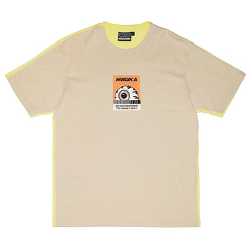 Keep Watch Color Blocked Tee - Khaki - Mishka