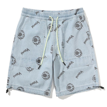 Keep Watch Denim Draw-String Pants - Mishka