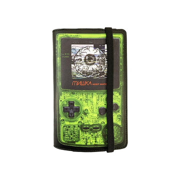 Keep Watch Game Console Passport Holder/Wallet - Mishka