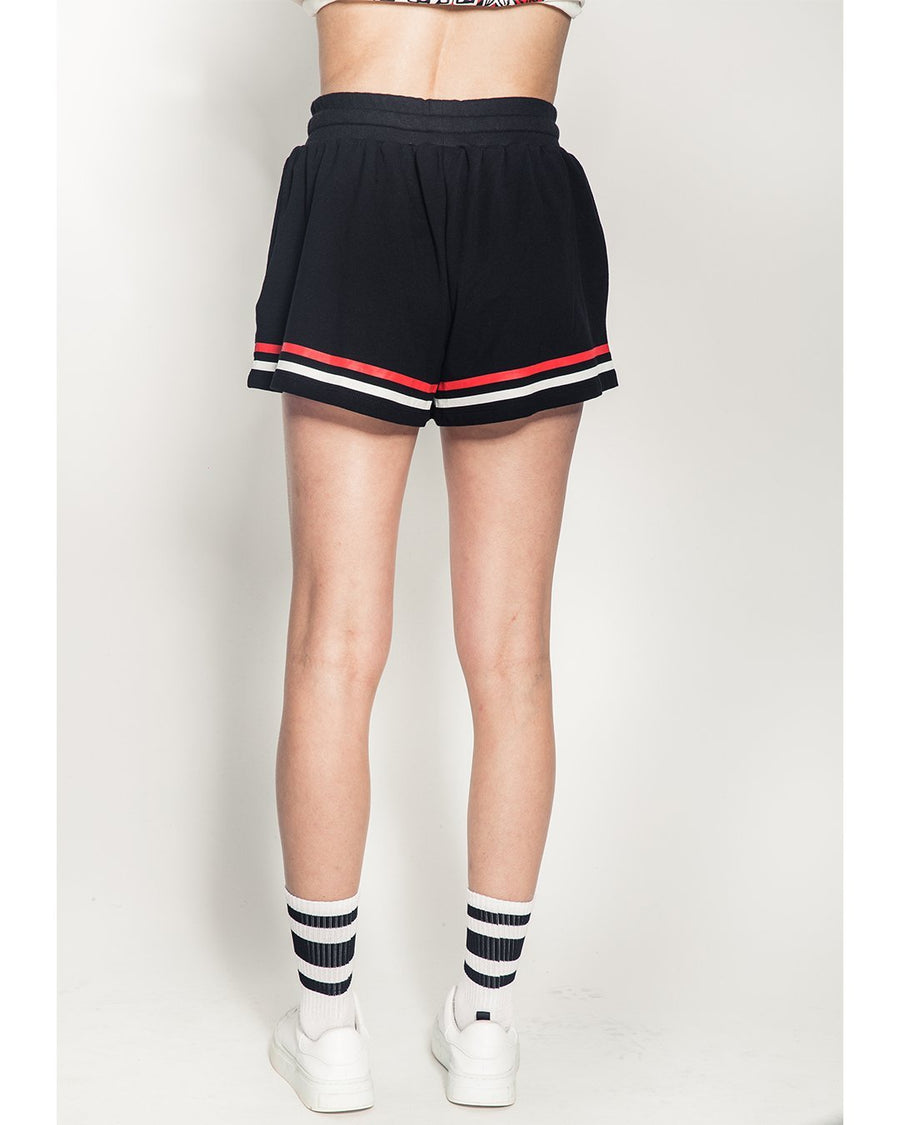Keep Watch Girl's Shorts (Black) - Mishka