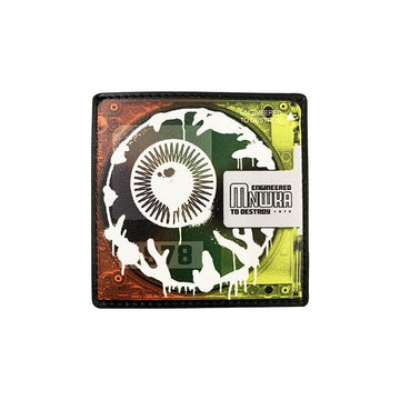 Keep Watch Mini Disk Card Holder - Mishka