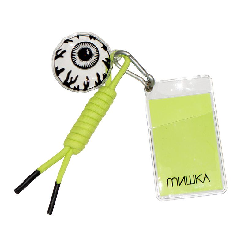Keep Watch Pass Keychain - Mishka NYC (4247053008965)