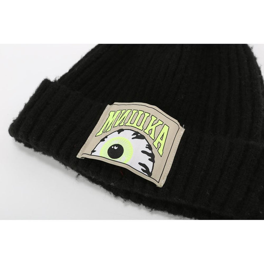 Keep Watch Pompom Beanie - Mishka