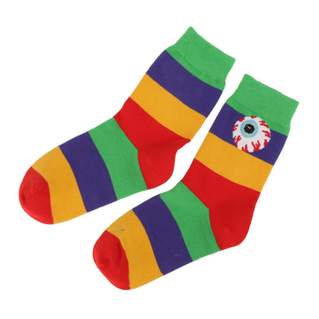 Keep Watch Rainbow Rd Socks - Mishka