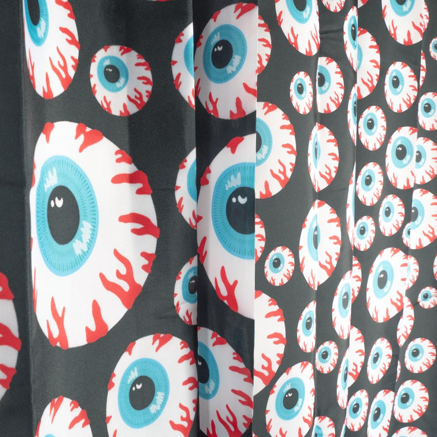 Keep Watch Shower Curtain - Mishka