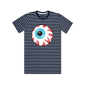 Keep Watch Striped Tee - Mishka