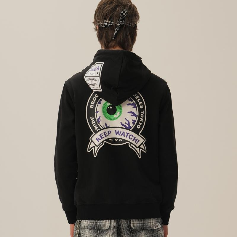Keep Watch Worldwide Hoodie - Mishka