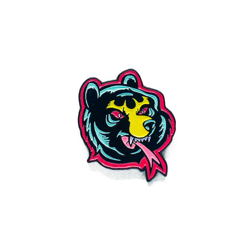 Lamour Cartoon Death Adder Enamel Pin - Mishka