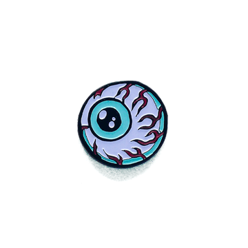 Lamour Cartoon Keep Watch Enamel Pin - Mishka NYC