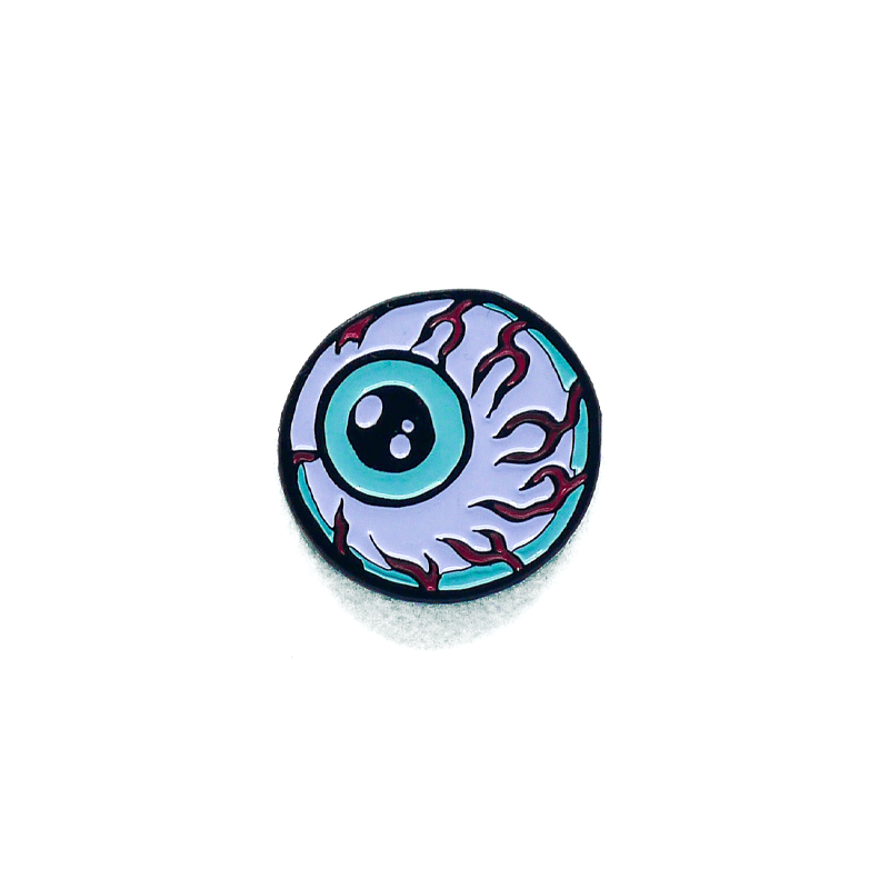Lamour Cartoon Keep Watch Enamel Pin - Mishka