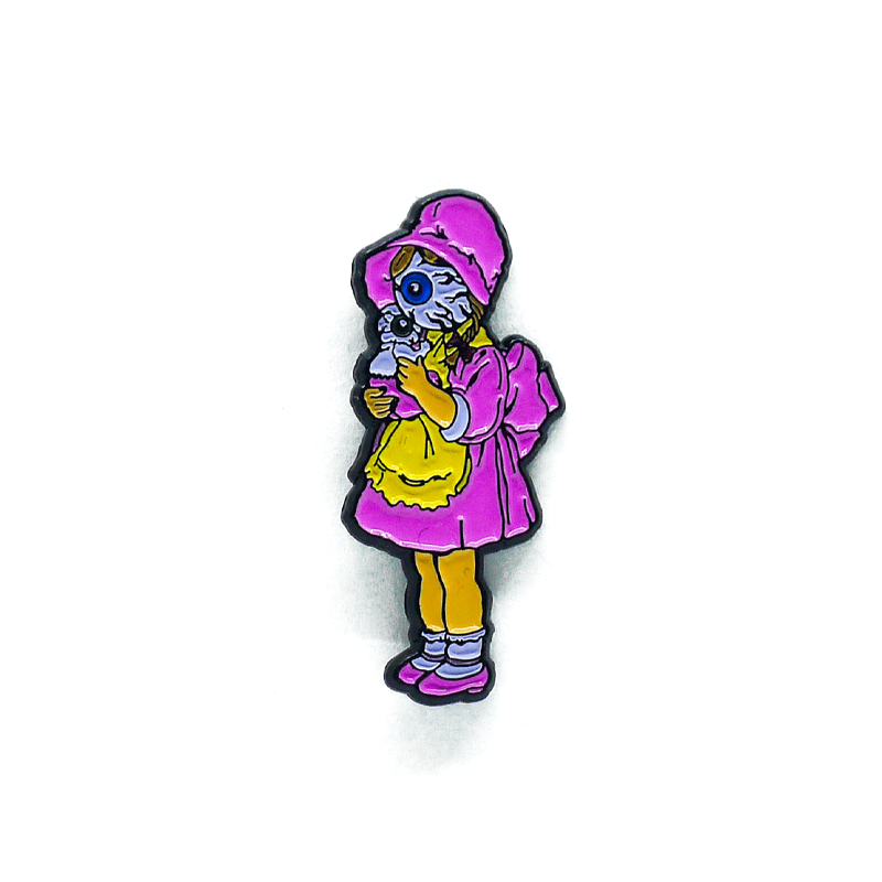 Lamour Pretty On The Inside Enamel Pin - Mishka