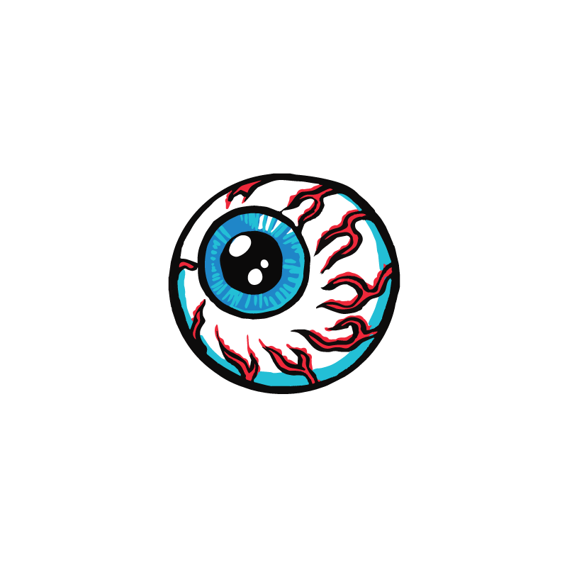 Lamour Supreme Cartoon Keep Watch Sticker - Mishka