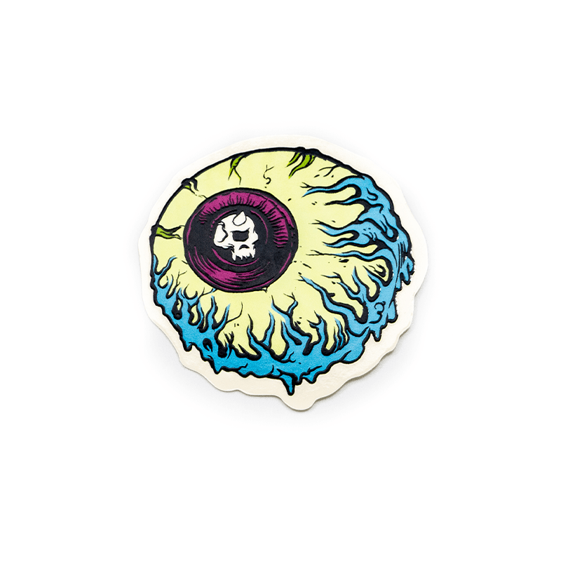 Lamour Supreme Keep Watch Clear Vinyl Sticker - Mishka