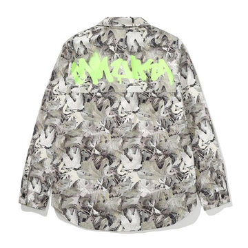 Leaf Camo Button Up - Mishka