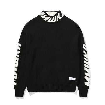 Logo Turtleneck Sweater - Mishka