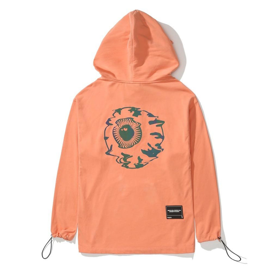 Look At Your Game Girl Hoodie - orange red - Mishka