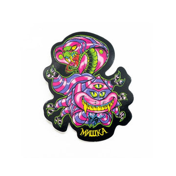 Mad Adder Sticker - Mishka