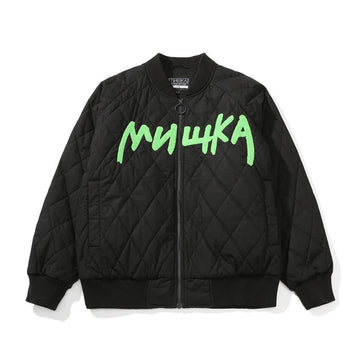 Melt Keep Watch Quilted Jacket - Mishka