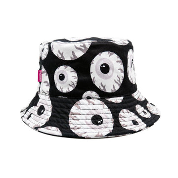 Monochrome Keep Watch Bucket Hat - Mishka
