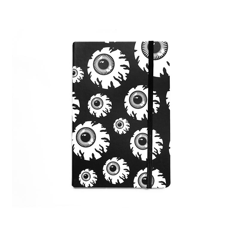 Monochrome Keep Watch Notebook - Mishka